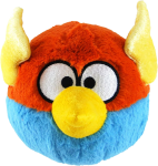 "Plüsch Figur ANGRY BIRDS ""Space"" - BLUE BIRD"