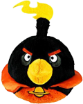 "Plüsch Figur ANGRY BIRDS ""Space"" - BOMB BIRD"
