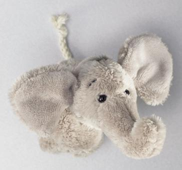 Schaffer Plüsch Magnet Elefant SUGAR grau