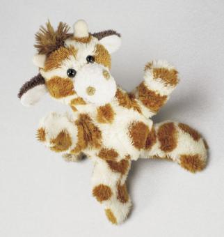 Schaffer Plüsch Magnet Giraffe KALULA braun