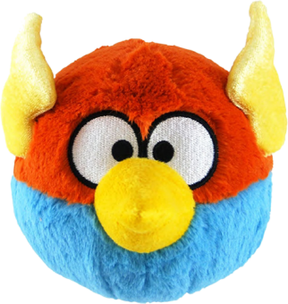 ANGRY BIRDS SPACE Plüsch Figur Vogel BLUE BIRD blau | 15 cm
