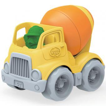 Greentoys Baustellenfahrzeug BETONMISCHER orange | 15 cm
