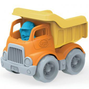 Greentoys Baustellenfahrzeug LASTER orange | 15 cm