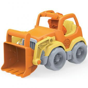 Greentoys Baustellenfahrzeug RADLADER orange | 19 cm