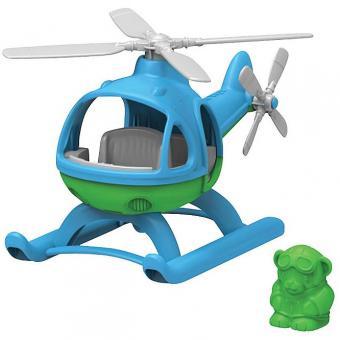 Greentoys Luftfahrzeug HELIKOPTER blau | 24 cm