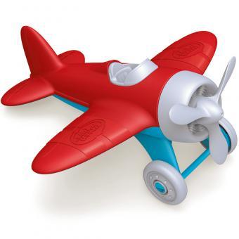 Greentoys Luftfahrzeug FLUGZEUG rot | 22 cm