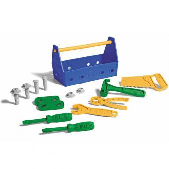 Greentoys Spielzeug WERKZEUG-SET blau | 23 cm