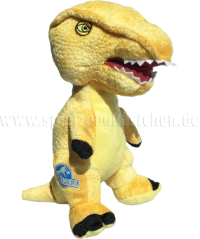 JURASSIC WORLD Plüsch Figur Dinosaurier STEGOCERAS gelb | 23 cm