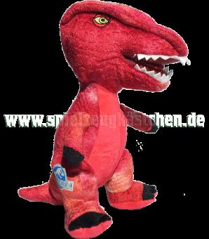 JURASSIC WORLD Plüsch Figur Dinosaurier STEGOCERAS rot   23 cm