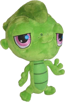LITTLEST PET SHOP Plüsch Figur Gecko VINNIE
