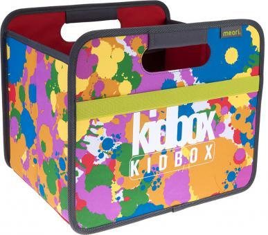 Meori FALTBOX 15l KID BOX für Kinder bunt gefleckt