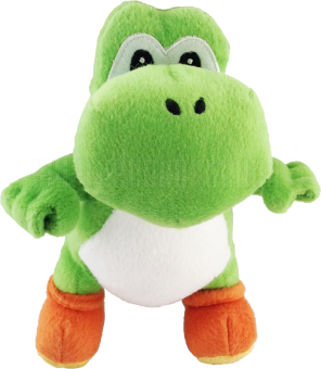 NINTENDO Plüsch Figur Super Mario Bros. YOSHI grün | 20 cm