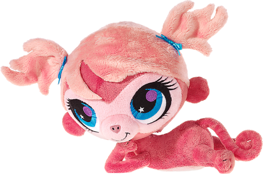 LITTLEST PET SHOP Plüsch Figur Affe MINKA