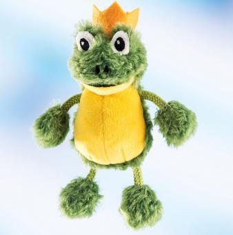 Schaffer Plüsch Schlüsselanhänger Frosch CHARLES grün