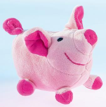 Schaffer Plüschtier Glücksschwein LOULOU rosa 12 cm
