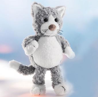 Schaffer Plüschtier Katze SILVER grauweiß
