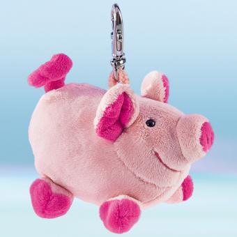Schaffer Plüsch Schlüsselanhänger Schwein LOULOU rosa