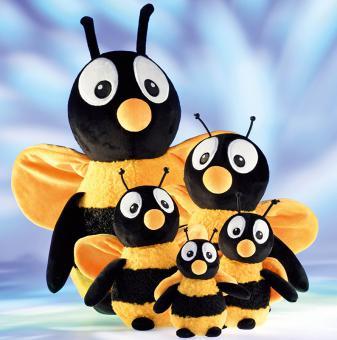 Schaffer Plüschtier Biene BUMBLE gelbschwarz