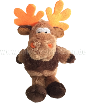 Schaffer Plüschtier Mini Elch OLE mit prächtigem Geweih | 11 cm