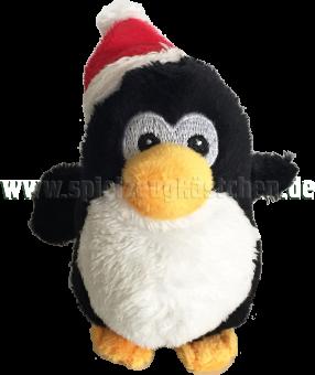 Schaffer Plüschtier Mini Pinguin PINGY mit Weihnachtsmütze | 8 cm