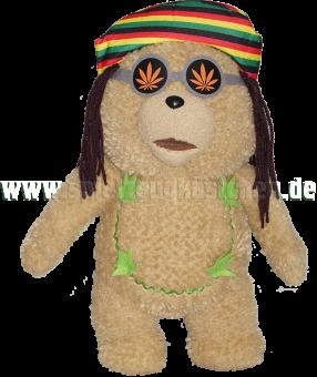 TED 2 Plüsch Figur TEDDYBÄR als Hippie mit Sound | 30 cm