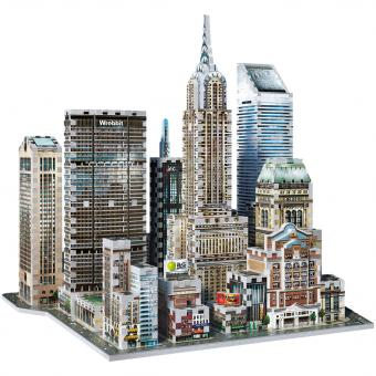 Wrebbit 3D Puzzle MIDTOWN EAST, New York Collection | 875 Teile