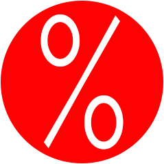 25% - 50% sparen