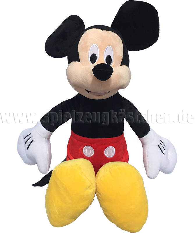 Disney's MICKEY MOUSE Plüsch Figur MICKY MAUS bunt | 48 cm